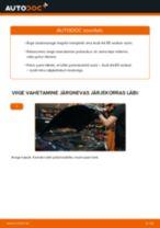 AUDI eesmine vasak parem Rattalaager vahetamine DIY - online käsiraamatute pdf