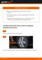 Anleitung: Opel Astra H Limousine Koppelstange vorne wechseln