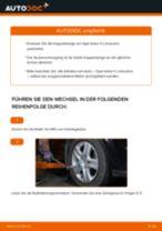 OPEL ASTRA H Saloon (L69) Koppelstange: PDF-Anleitung zur Erneuerung