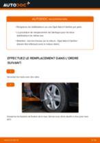 Comment changer : biellette de barre stabilisatrice avant sur Opel Astra H berline - Guide de remplacement