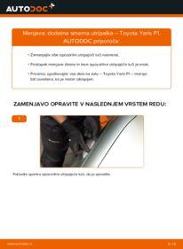 Kako izvesti menjavo: Smerna utripalka na 1.0 (SCP10_) Toyota Yaris p1