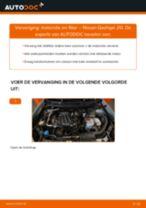 NISSAN QASHQAI Oliefilter motor vervangen: online instructies