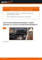 Cómo cambiar: bobina de encendido - Nissan Qashqai J10   Guía de sustitución