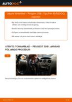 Peugeot 308 CC reparations- och underhåll handledning