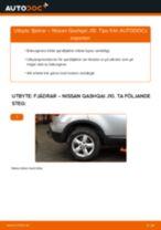 Byta fjädrar bak på Nissan Qashqai J10 – utbytesguide