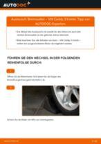 Anleitung: VW Caddy 3 Kombi Bremssattel vorne wechseln