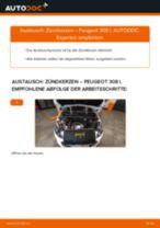 Wie Peugeot 308 I Zündkerzen wechseln - Anleitung