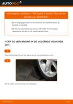 Hoe remklauw vooraan vervangen bij een VW Caddy 3 Kombi – Leidraad voor bij het vervangen