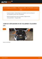 PEUGEOT Luchtfilter veranderen doe het zelf - online handleiding pdf