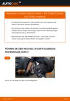 Vorderer unterer Lenker selber wechseln: VW Caddy 3 Kombi - Austauschanleitung