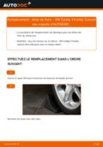 Comment changer : étrier de frein avant sur VW Caddy 3 Kombi - Guide de remplacement
