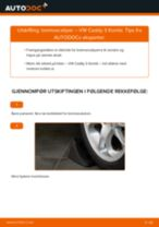 Trinn-for-trinn reperasjonshåndbøker VW NEW BEETLE