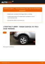 Mekanikerens anbefalinger om bytte av NISSAN Nissan Qashqai j10 2.0 dCi Allrad Fjærer