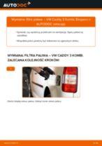 Jak wymienić filtr paliwa w VW Caddy 3 Kombi - poradnik naprawy