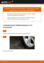 Jak wymienić zacisku hamulcowego przód w VW Caddy 3 Kombi - poradnik naprawy