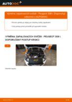Podrobný průvodce opravami pro Peugeot 308 SW Combi