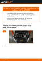 Οι συστάσεις του μηχανικού αυτοκινήτου για την αντικατάσταση NISSAN Nissan Qashqai j10 2.0 dCi Allrad Τακάκια Φρένων