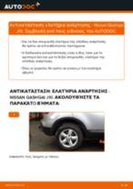 Οι συστάσεις του μηχανικού αυτοκινήτου για την αντικατάσταση NISSAN Nissan Qashqai j10 2.0 dCi Allrad Αμορτισέρ