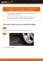 Instalação Pinças de freio VW CADDY III Estate (2KB, 2KJ, 2CB, 2CJ) - tutorial passo-a-passo