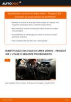 Tutorial de reparo e manutenção Peugeot 308 CC