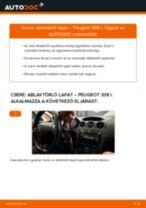 Peugeot 308 2 javítási és kezelési útmutató pdf