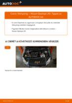 Autószerelői ajánlások - Nissan Qashqai j10 2.0 dCi Allrad Hátsólámpa cseréje