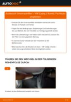 Montage Bremshalter VW CADDY III Estate (2KB, 2KJ, 2CB, 2CJ) - Schritt für Schritt Anleitung