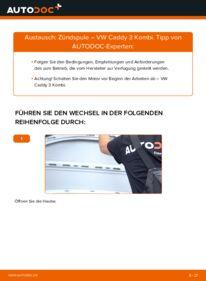 Wie der Wechsel durchführt wird: Zündspule 1.9 TDI VW Caddy 3 tauschen