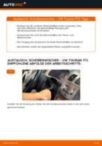 Montage Rücklichter VW TOURAN (1T3) - Schritt für Schritt Anleitung