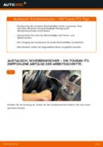 Wie VW Touran 1T3 Scheibenwischer vorne wechseln - Schritt für Schritt Anleitung
