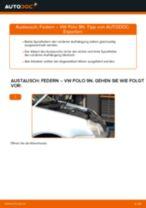 Wie VW Polo 9N Federn vorne wechseln - Schritt für Schritt Anleitung