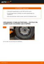 Hoe Koppelstang vervangen en installeren VW POLO: pdf tutorial