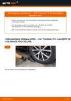 Remslang VW TOURAN (1T3) monteren - stap-voor-stap tutorial