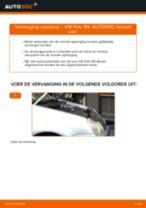 Tips van monteurs voor het wisselen van VW VW Polo 5 Sedan 1.4 Veren