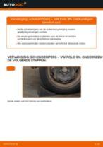 Hoe schokdempers achteraan vervangen bij een VW Polo 9N – Leidraad voor bij het vervangen