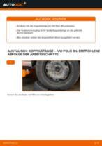 Koppelstange vorne selber wechseln: VW Polo 9N - Austauschanleitung