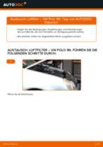 Hinweise des Automechanikers zum Wechseln von VW VW Polo 5 Limousine 1.4 Luftfilter