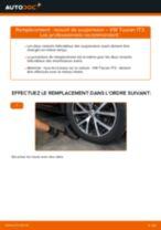 Remplacement de Ressort de suspension sur VW TOURAN (1T3) : trucs et astuces