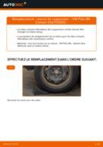 Remplacement de Ressort de suspension sur VW POLO (9N_) : trucs et astuces