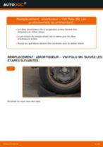 Changement Amortisseurs VW POLO : manuel d'atelier
