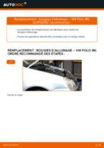 Changement Bougies d'Allumage VW POLO (9N_) : guide pdf