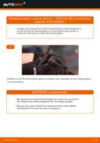 Comment changer : essuie-glaces avant sur VW Polo 9N - Guide de remplacement