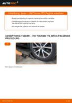 Udskift fjeder bag - VW Touran 1T3 | Brugeranvisning