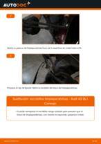 Tutorial paso a paso en PDF sobre el cambio de Manguito de Admisión del Motor en Audi A3 8L