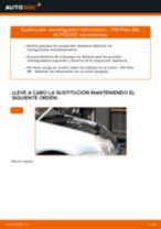Cómo cambiar: amortiguador telescópico de la parte delantera - VW Polo 9N | Guía de sustitución
