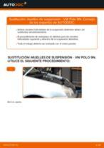 Cómo cambiar: muelles de suspensión de la parte delantera - VW Polo 9N | Guía de sustitución