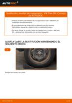 Cómo cambiar: muelles de suspensión de la parte trasera - VW Polo 9N | Guía de sustitución
