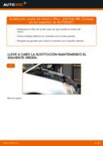 Cómo cambiar: aceite y filtro - VW Polo 9N | Guía de sustitución