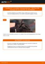 Cómo cambiar: escobillas limpiaparabrisas de la parte delantera - VW Polo 9N | Guía de sustitución
