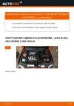 Cambio Candela di accensione AUDI da soli - manuale online pdf